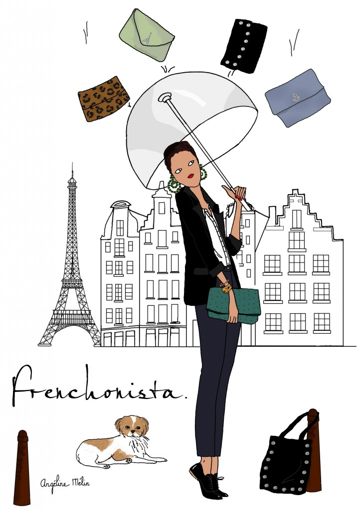 New Frenchonista Illustrations By Angeline Melin