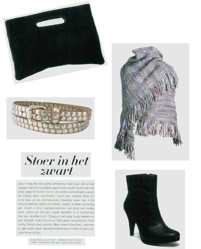 Beertje Clutch Spotted in the Dutch Wellness Magazine!