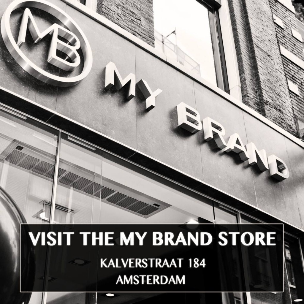 My Brand Store opened In Amsterdam!!!
