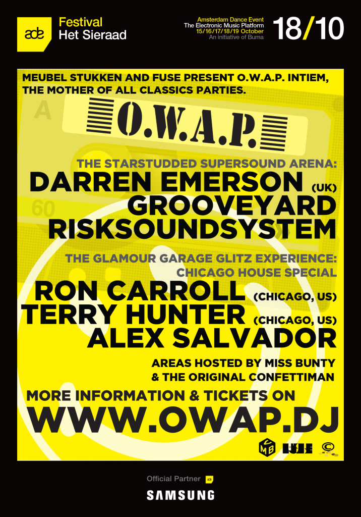 PARTYYYYY! O.W.A.P Intiem Ade Special this saturday! ACIIIIID!