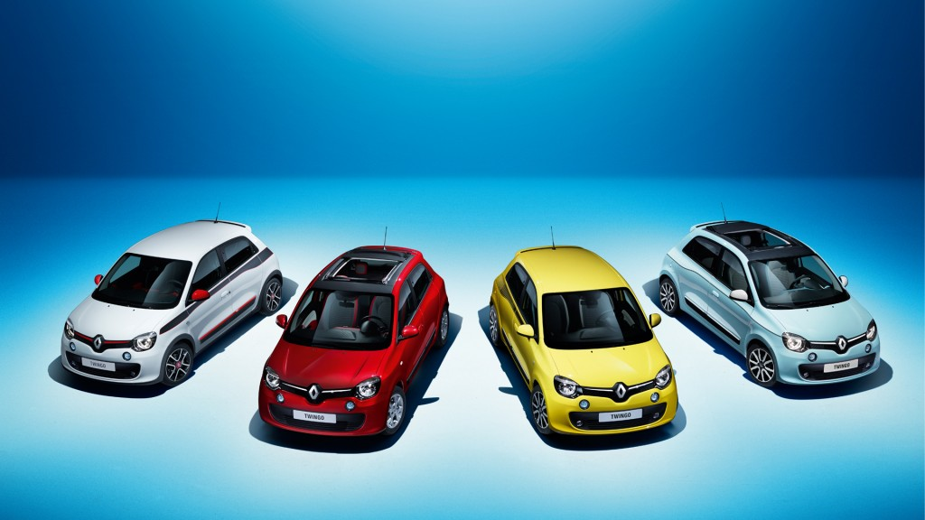 Samia's Twingo Weekend with the latest car from Renault!!!!