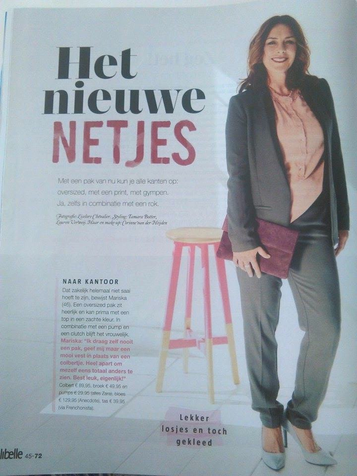Iraida Clutch is Spotted in dutch Libelle Magazine!