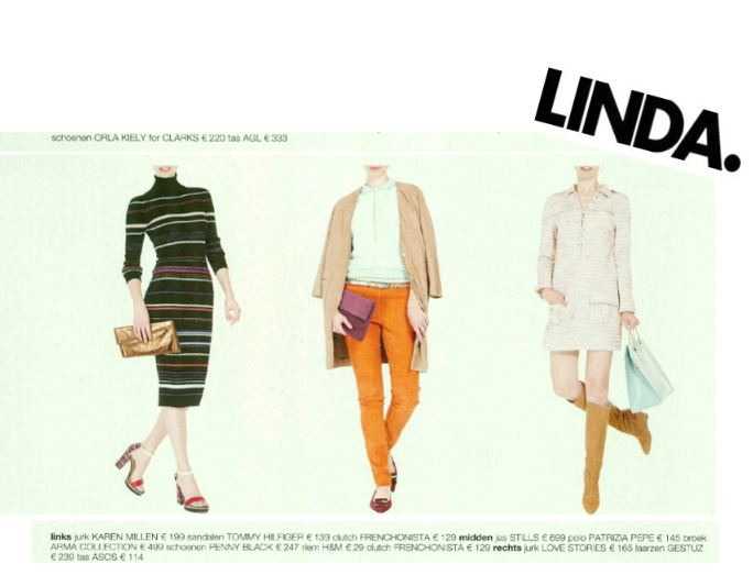 Kartinie and Rose Clutch in Dutch Linda Magazine