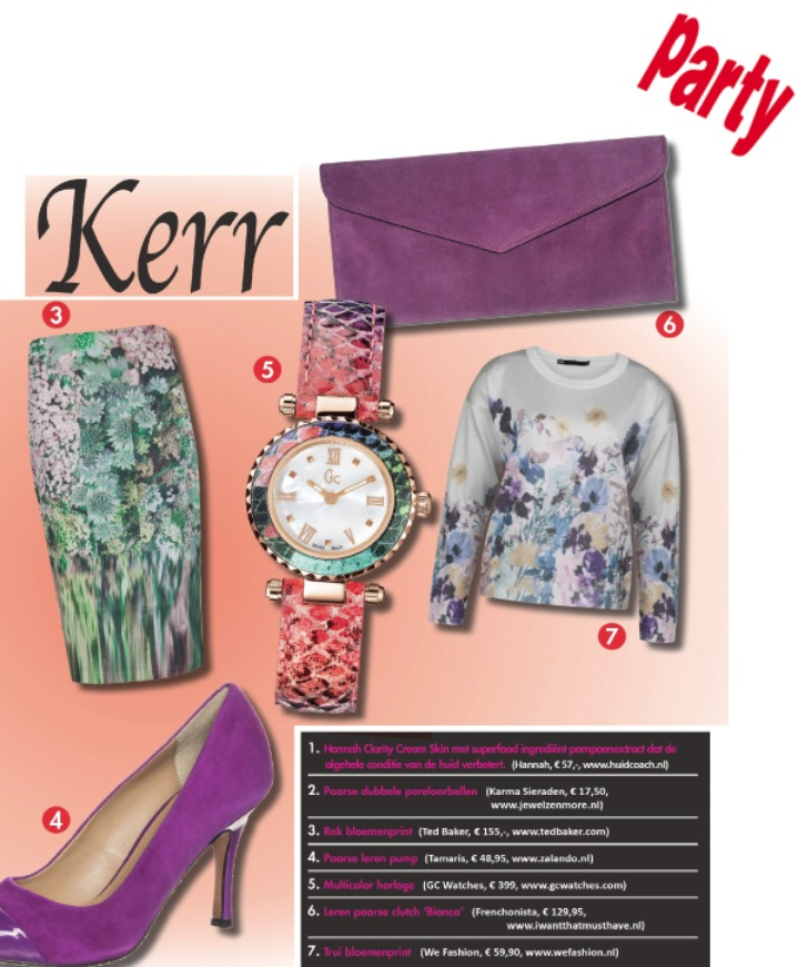 Bianca Clutch in Dutch Party Magazine