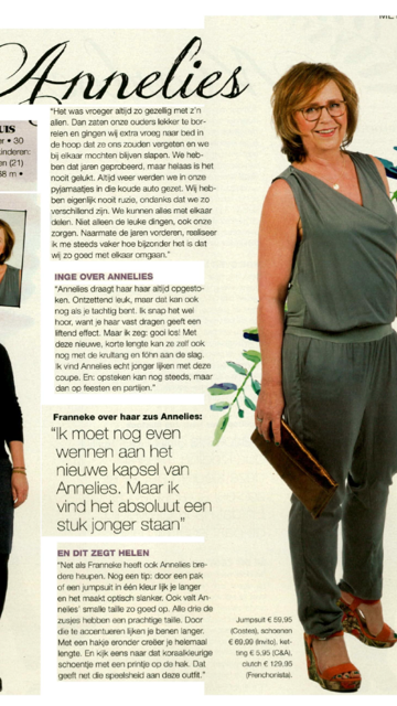 Kartinie and Rose Clutches Spotted on Dutch Libelle Magazine!