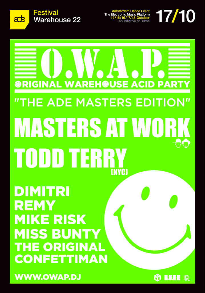Original Warehouse Acid Party – Last tickets!!