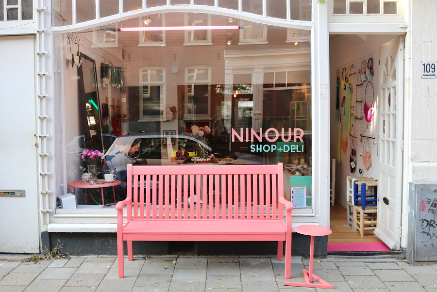 Shop AND have lunch at Ninour in de Pijp!