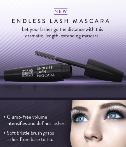 Endless long lashes with Paula's Choice