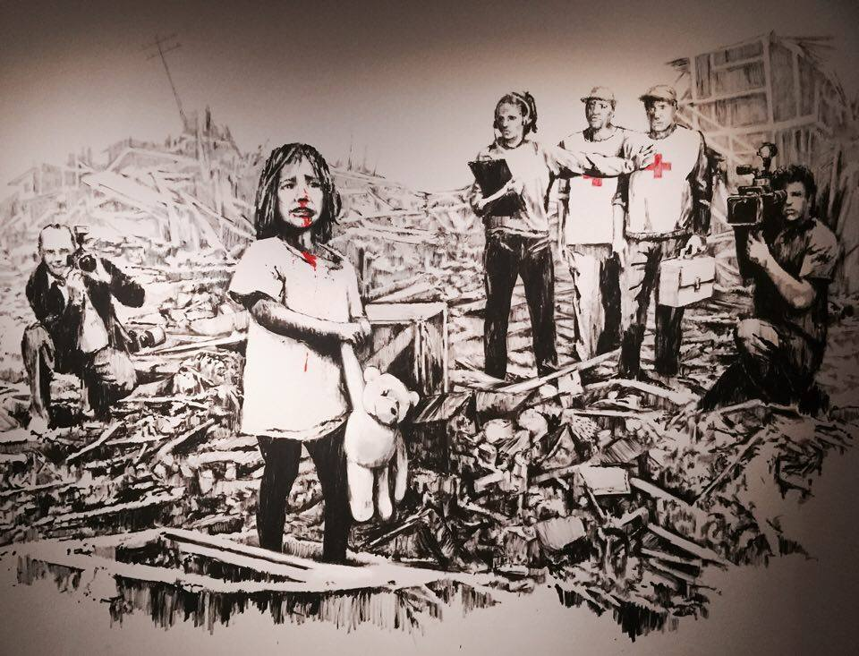 The Art of Banksy in Amsterdam