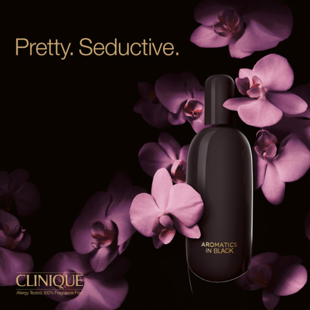 Aromatics in Black by Clinique: a dark and mysterious fragrance