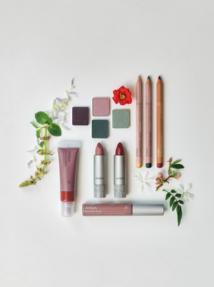 AVEDA, The Make-up line Fõklôr