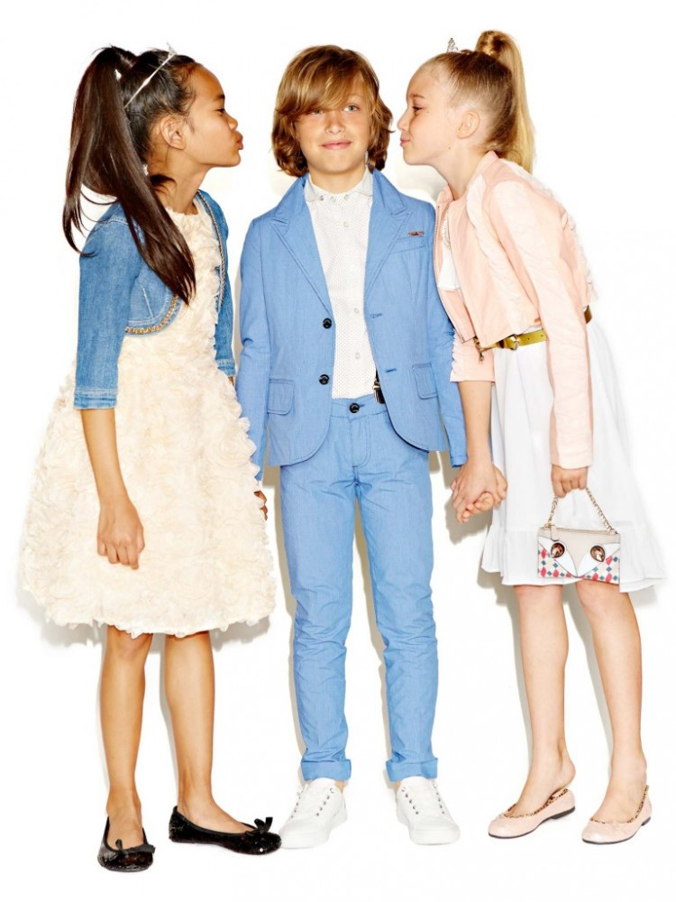 Guess kids goes summer chic