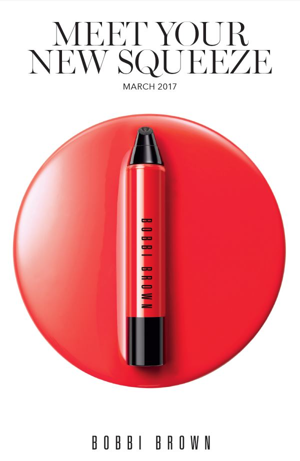 "Bobbi Brown… ""squeeze"" me!"