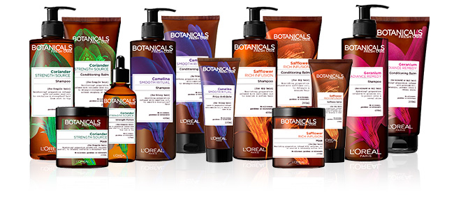 Botanicals Fresh haircare Line