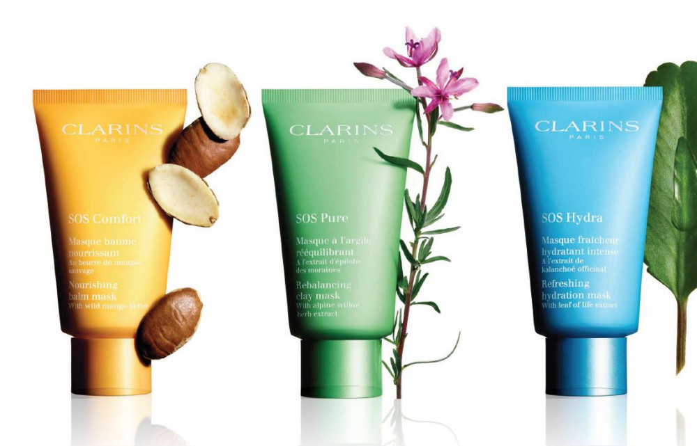 Looking for a facial mask? …Clarins is your answer!