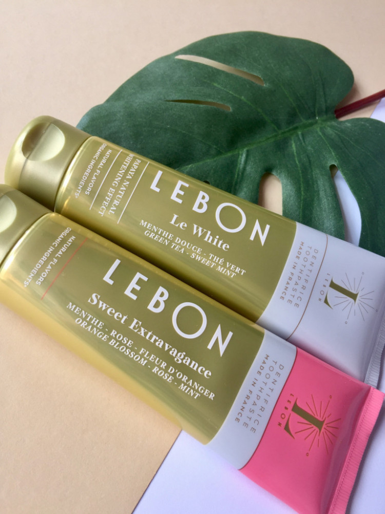 Lebon – Finally a toothpaste that excites us!