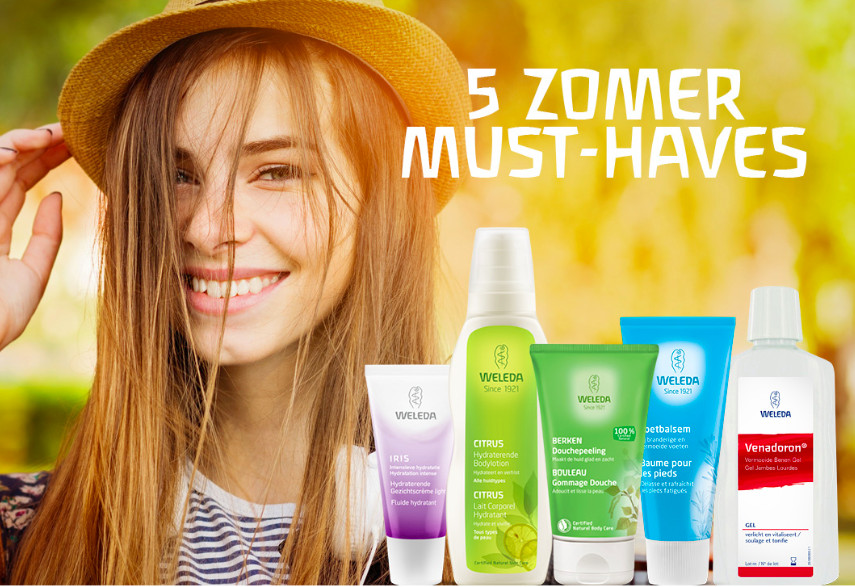 5 Summer Must-haves from Weleda!
