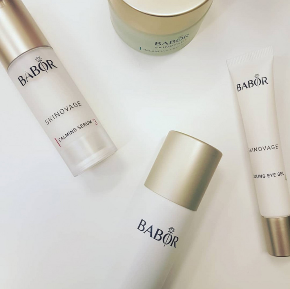 Calm your sensitive skin with Babor!